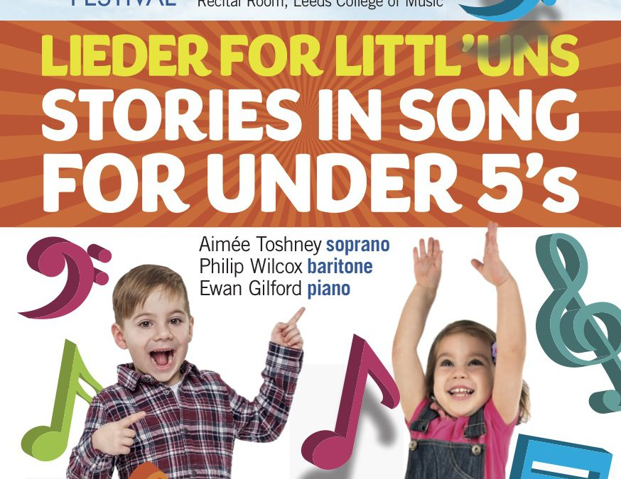 New for 2017 – Lieder for Littl'uns!