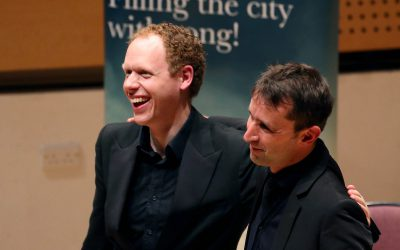 'truly transporting opening concert from two marvellous talents'