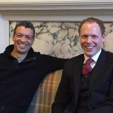Roderick Williams and Joseph Middleton, curators of Leeds Lieder 2016. They talk about this year's festival in this Gramophone podcast