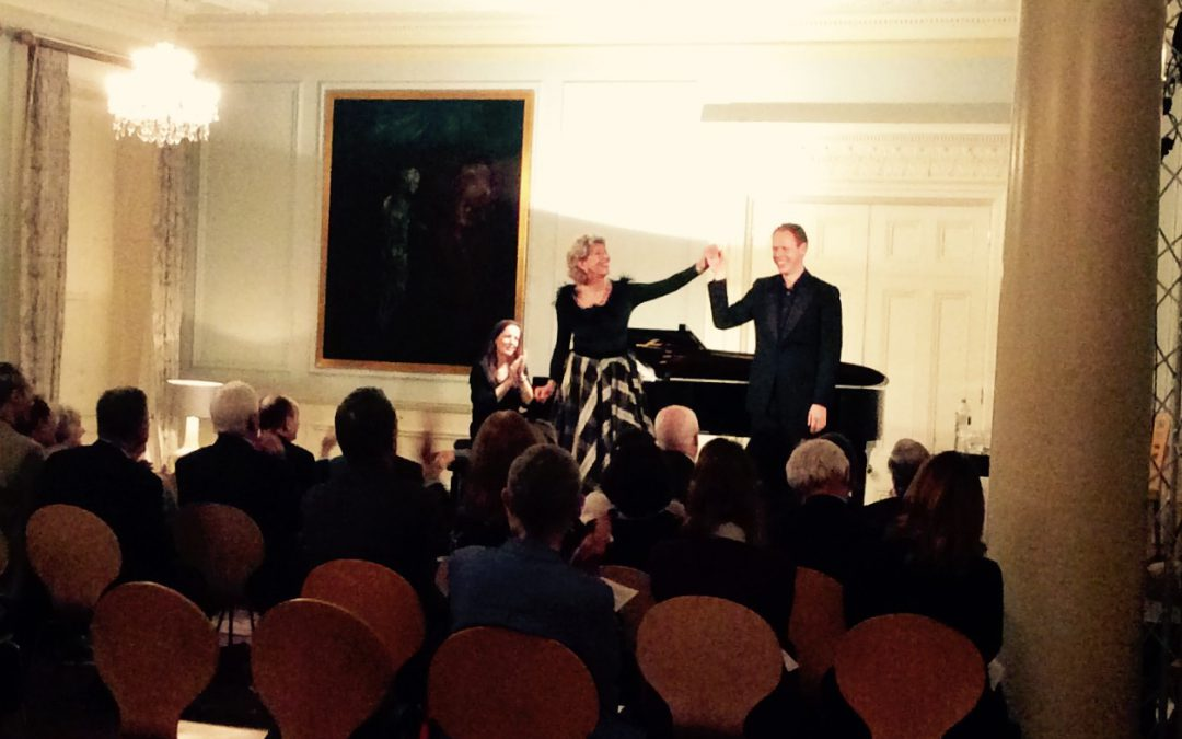 Leeds Lieder Festival Launch in London with Dame Felicity Lott