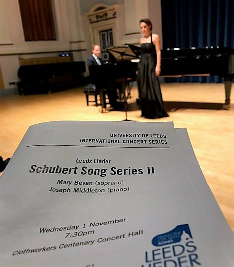 Brilliant reception for Schubert Song Series II